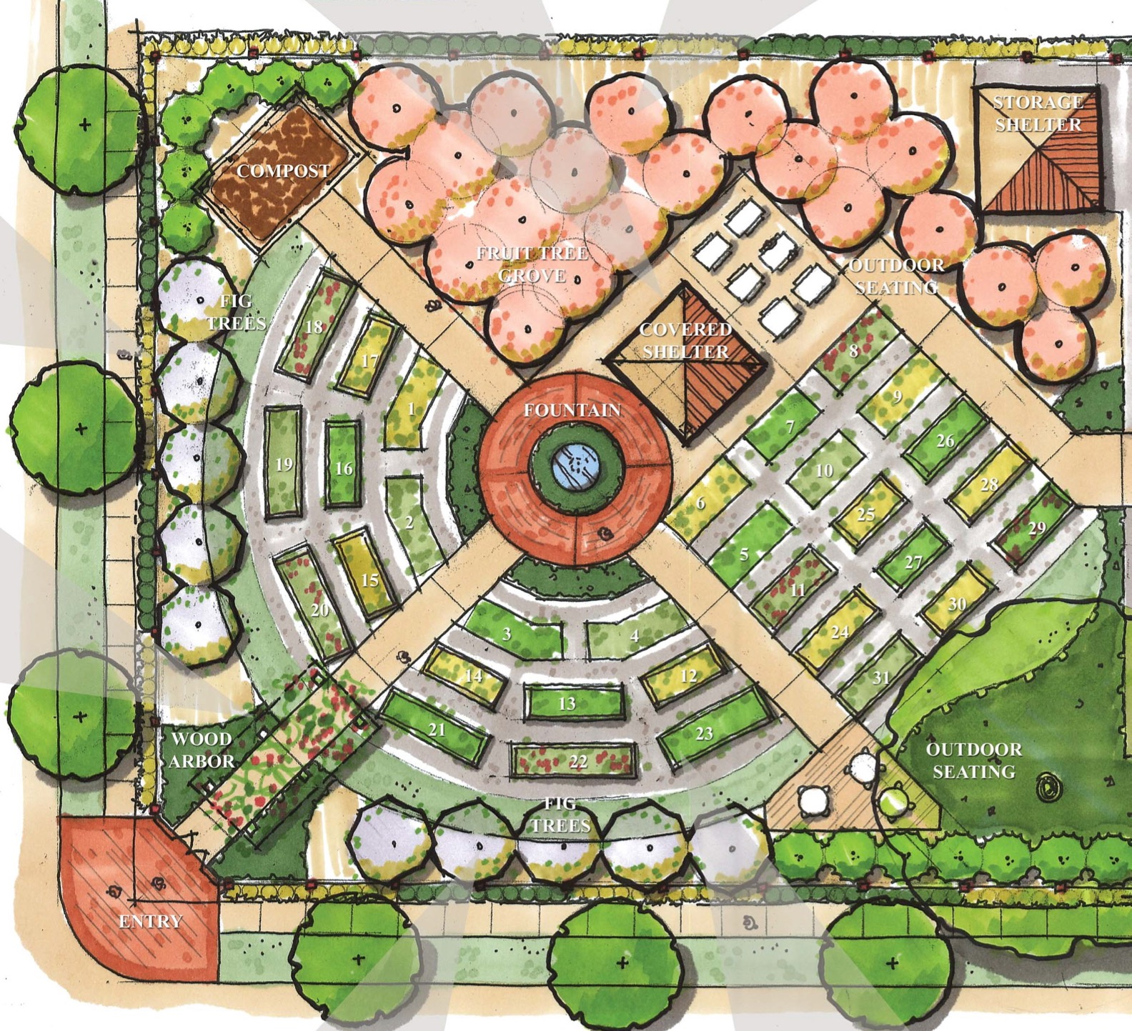 Community Garden - Bayou District Foundation