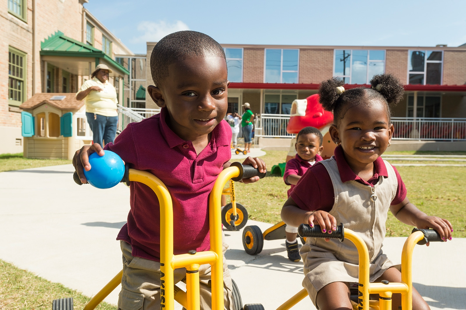 Educare New Orleans children - Bayou District Foundation